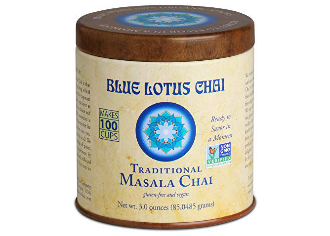 Chai, Traditional Masala, Blue Lotus