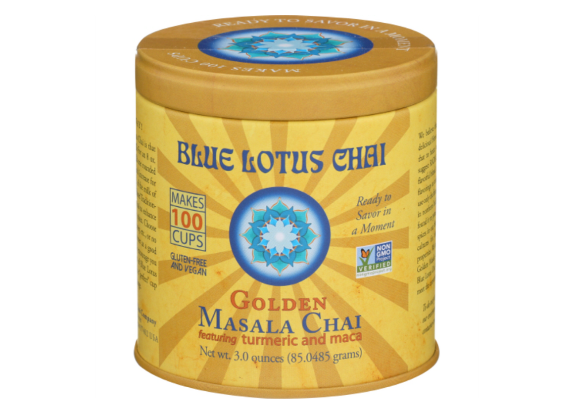 Chai, Golden Masala, Blue Lotus