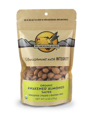 Awakened<sup>&reg;</sup> Almonds, Salted
