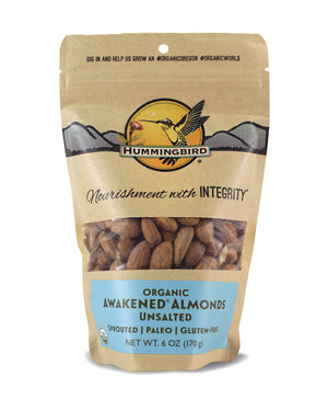 Awakened<sup>&reg;</sup> Almonds, Unsalted