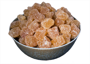 Ginger, Crystallized Cubes