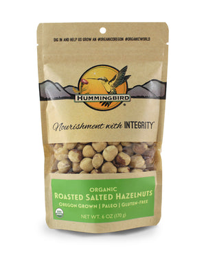 Roasted Salted Hazelnuts