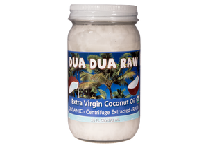 Coconut Oil, Raw, Extra Virgin, Dua Dua