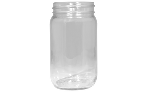 Containers and Lids, Glass Jars, 16 oz
