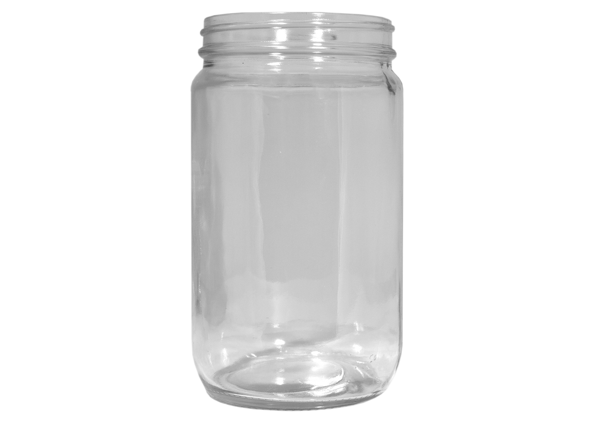 Containers and Lids, Glass Jars, 32 oz