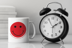 Mug Smiley Red