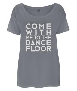 Women's Oversized T-Shirt Dancefloor