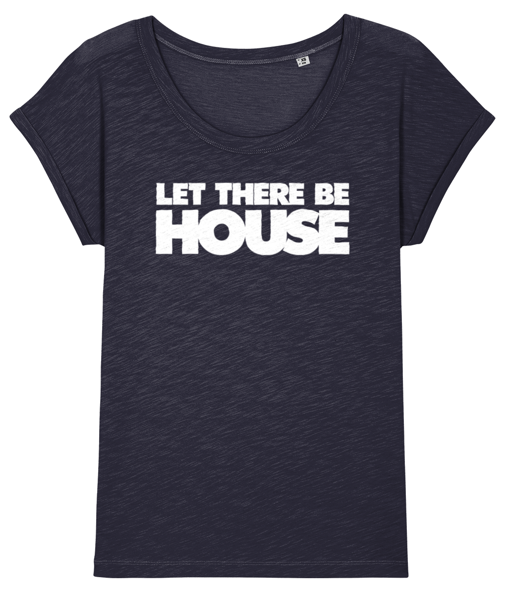 Women's Slub T-Shirt LTBH Words