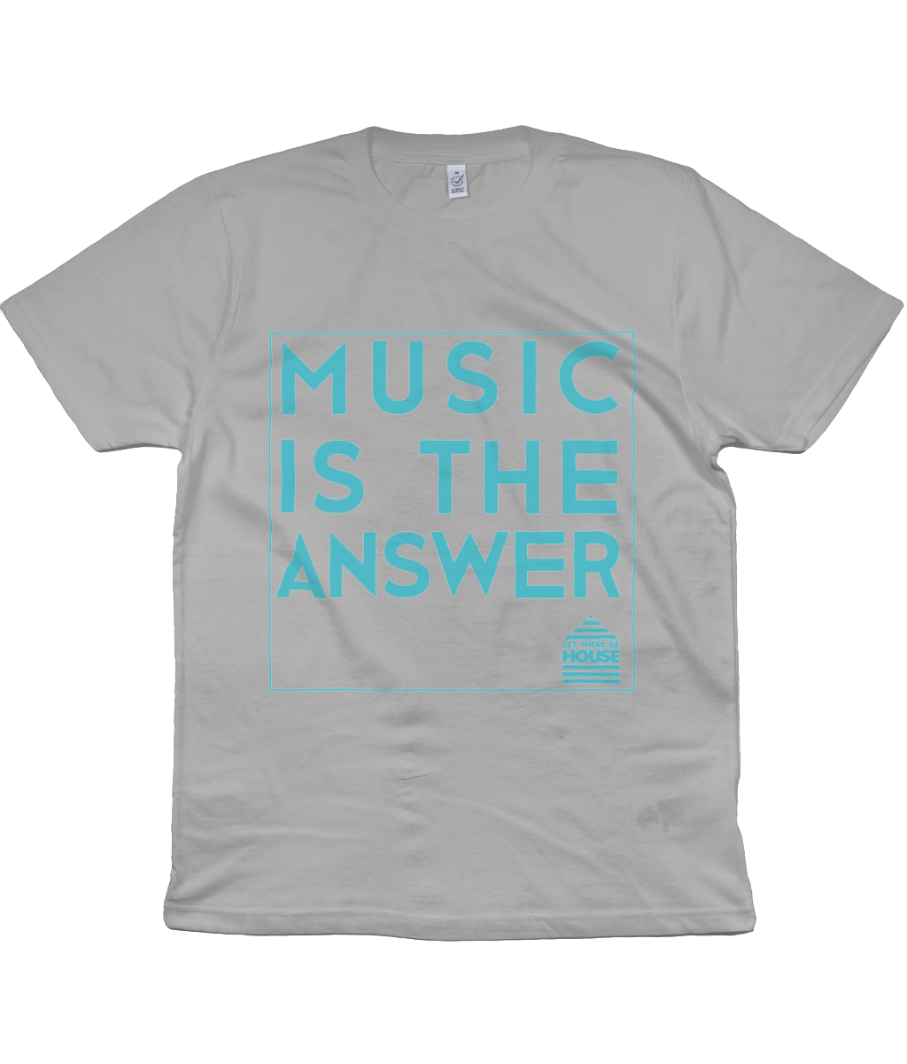 T-Shirt Music Blue