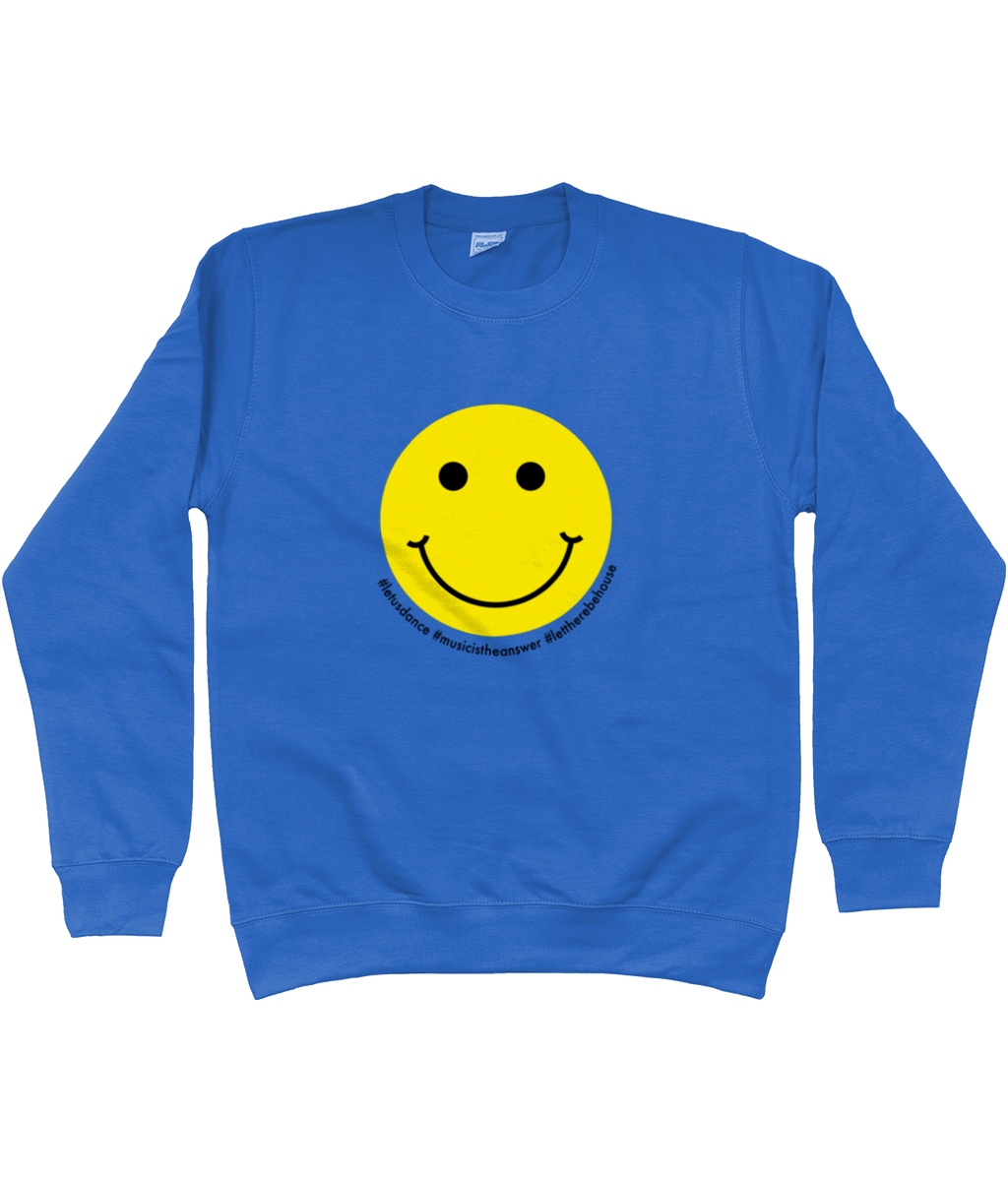 Sweatshirt Smiley Yellow & Black