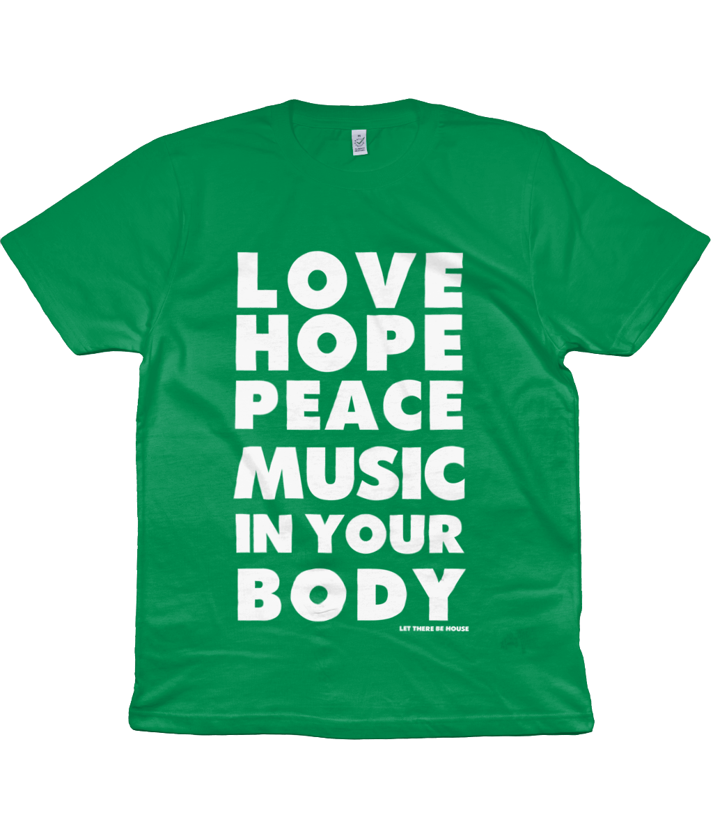 T-Shirt Love Hope White