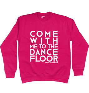 Sweatshirt Dancefloor Cranberry SALE