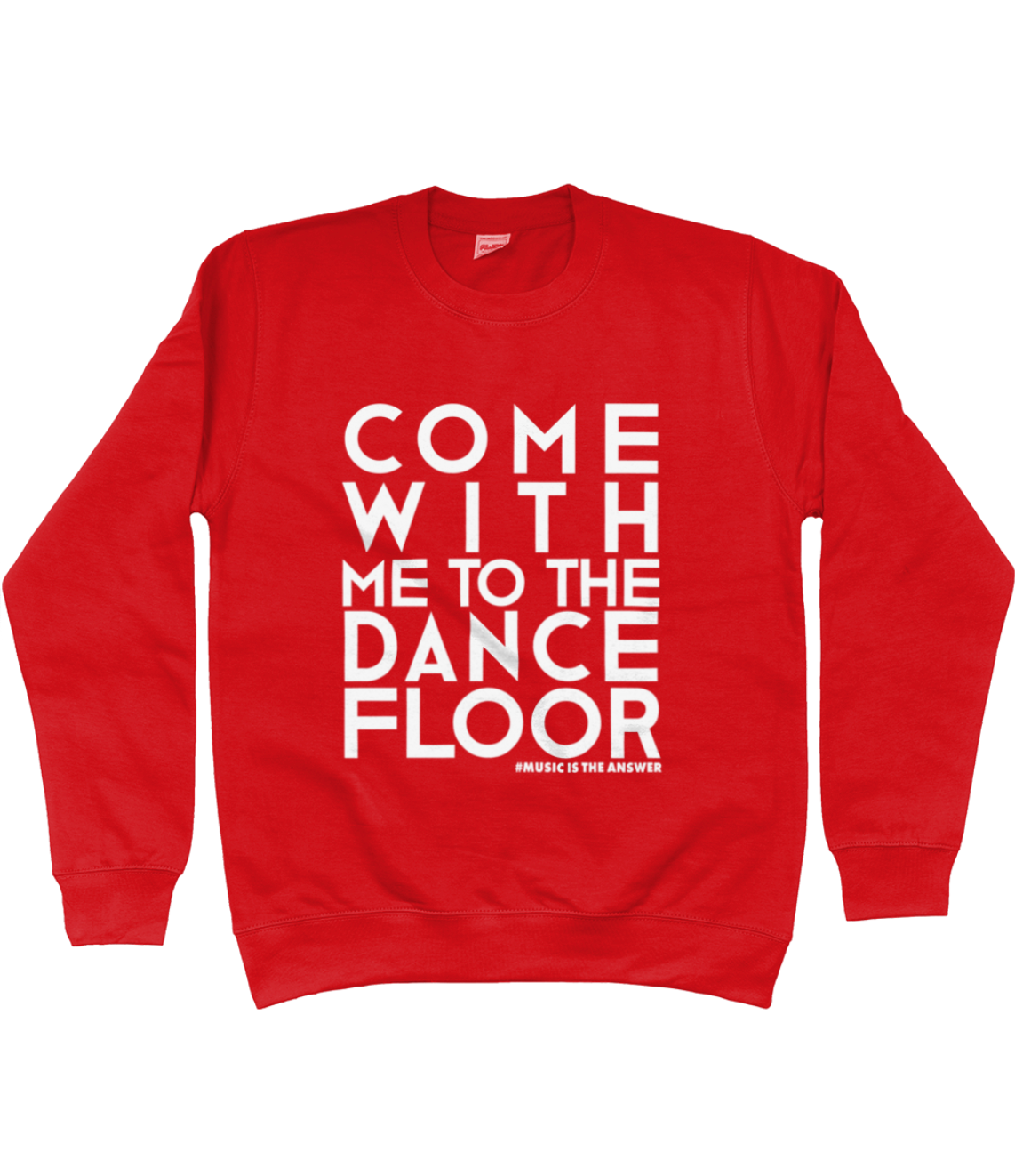 Sweatshirt Dancefloor Red SALE
