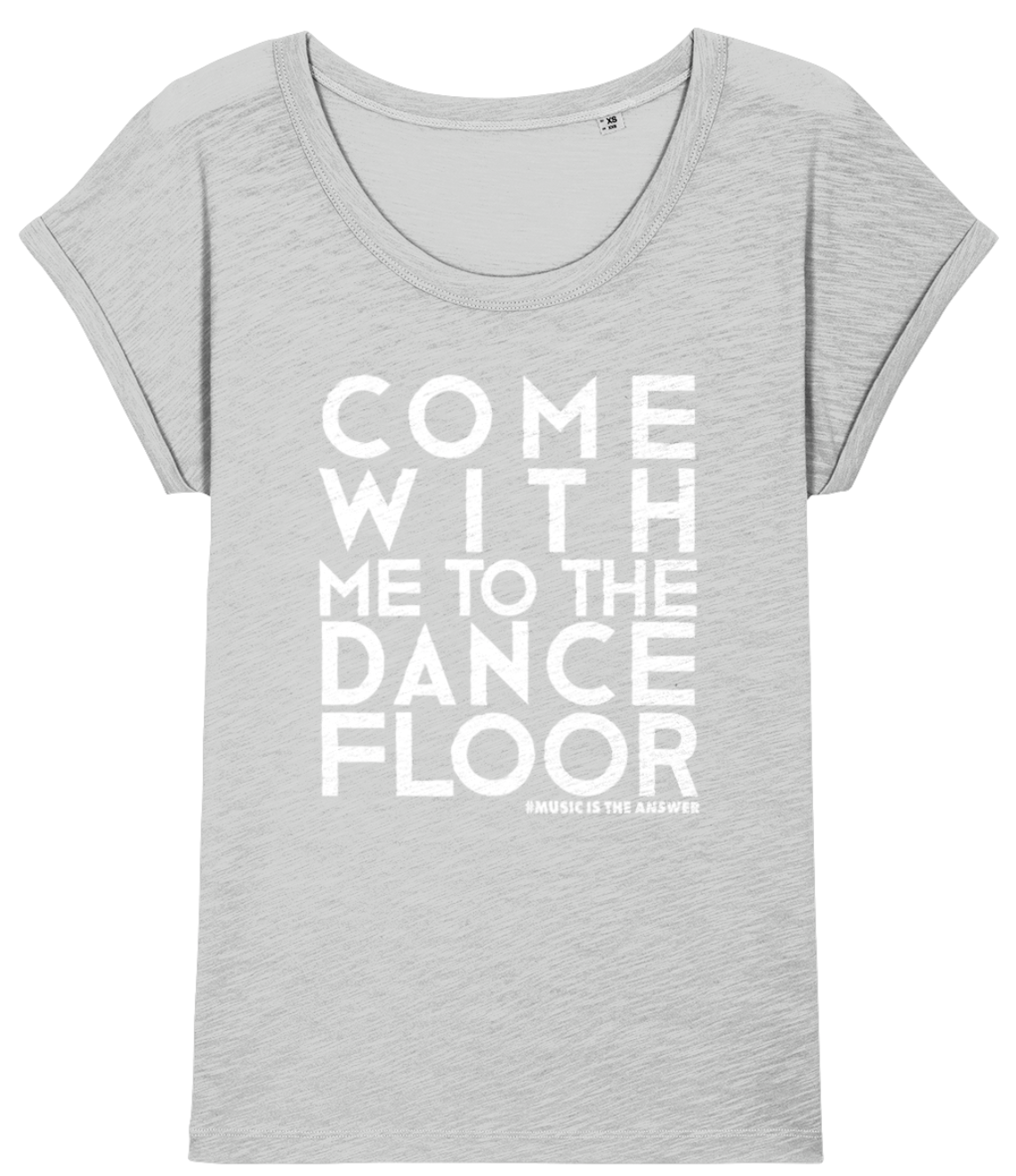 Women's Slub T Dancefloor Grey SALE