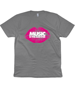 T-Shirt Lips Music