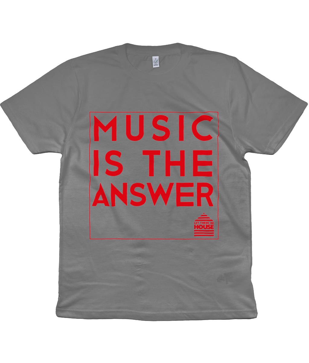T-Shirt Music Red