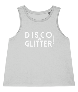 Women's Dancer Vest Disco & Glitter