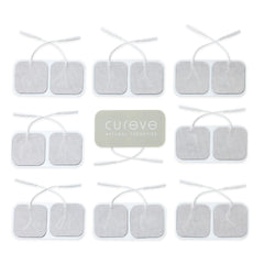 TENS + EMS Electrode Replacement Pads (20 pads)