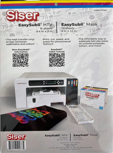 "Easy Subli Kit (HTV+Mask) 8.4""x11"""