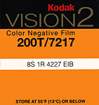 Vision 200NT Negative Colour