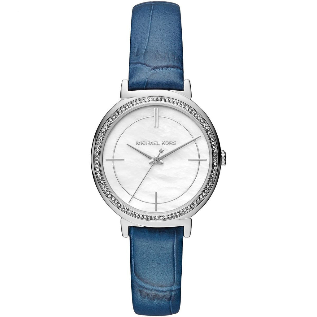 f16917f0f475 Michael Kors Cinthia MK2661 Blue Strap Stainless Steel Dial Womenês Watch