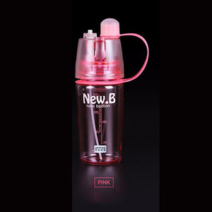 New Creative Spray Water Bottle