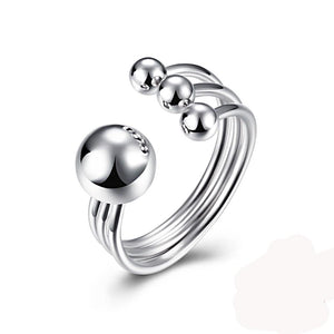 Open Sterling Silver Ring