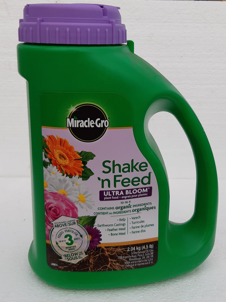 Miracle Gro Shake n' Feed Ultra Bloom