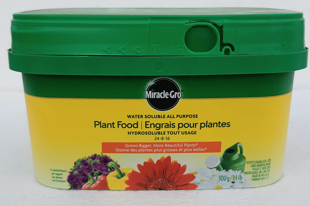 Miracle Gro Water Soluble Plant Food