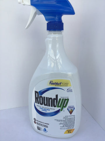 Roundup Ready To Use Foam Herbicide