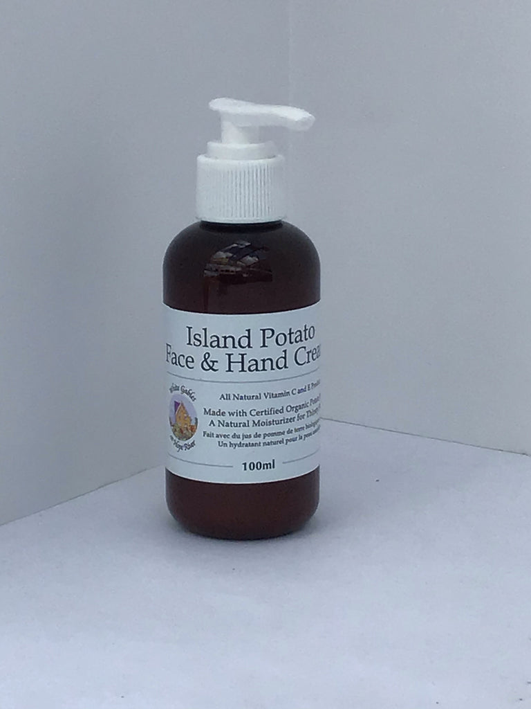 Island Potato Face & Hand Cream