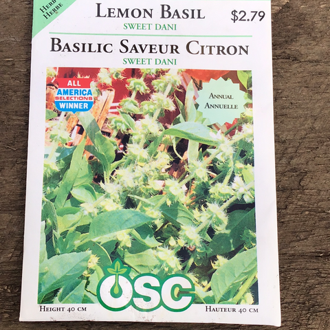 Lemon Basil, OSC