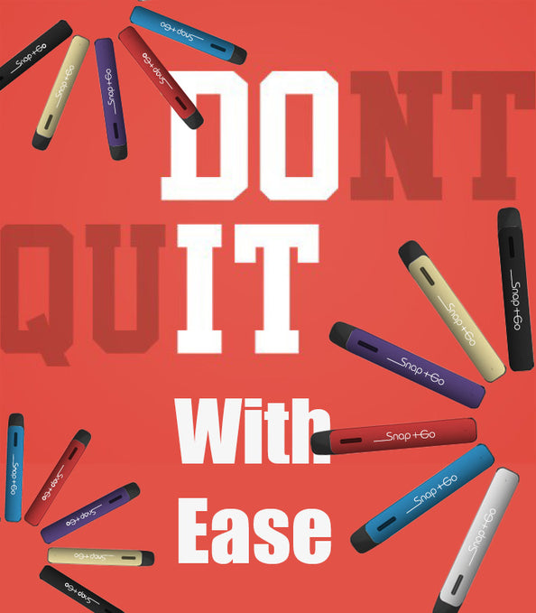 How to Quit with Ease?