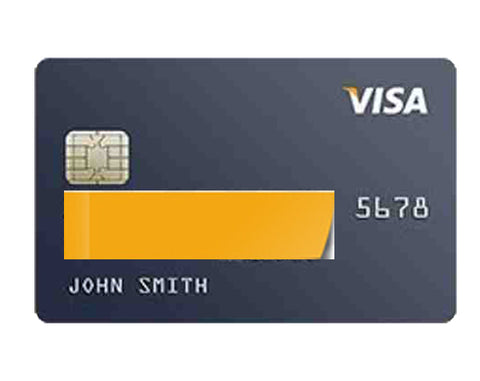 Example of Credit card