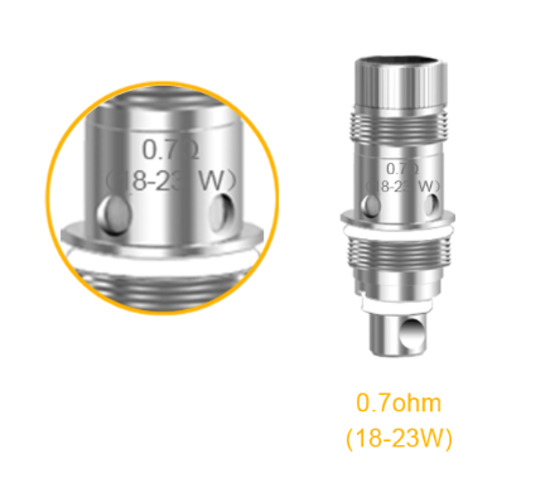 Aspire Zelos Kit Coil / Atomizers 0.7 / 1.8 Ohm