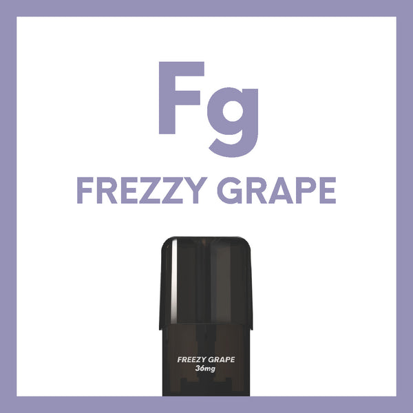 AIRSCREAM 2AirsPops Pods 1.6ML Freezy Grape