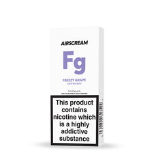 Airscream Cartridge Freezy Grape 2pods pk