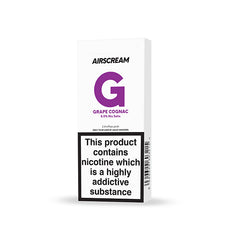 Airscream Cartridge Grape Cognac 2pods pk