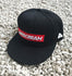 AIRSCREAM Red Logo Cap Black