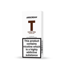 AIRSCREAM Cartridge Toffee Toba 1.2ML 2pods pk