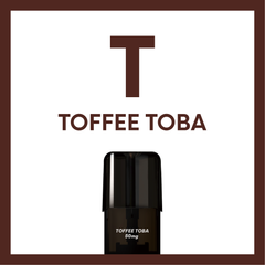 AIRSCREAM 2 AirsPops Pods 1.6ML Toffee Toba