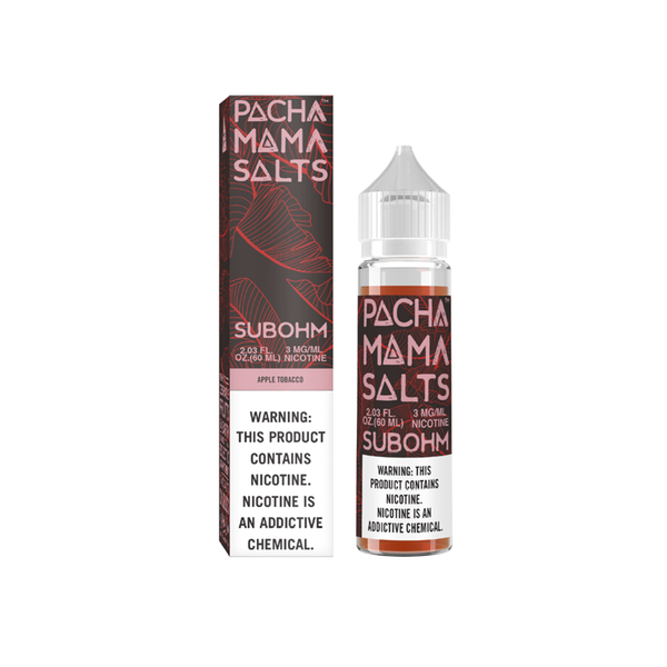 Charlie's Chalk Dust Pachamama Subohm Salts Apple Tobacco 60ml