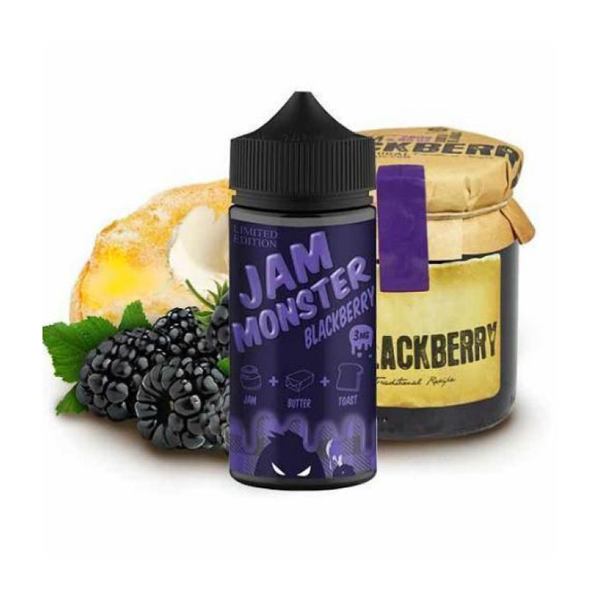 Jam Monster Blackberry 100ml - Airscream NZ | Online Vape Store NZ | Vape Pod System NZ