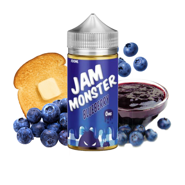 Jam Monster Blueberry 100ml - Airscream NZ | Online Vape Store NZ | Vape Pod System NZ
