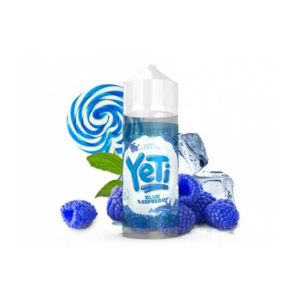 Yeti Blue Raspberry 100ml - Airscream NZ | Online Vape Store NZ | Vape Pod System NZ
