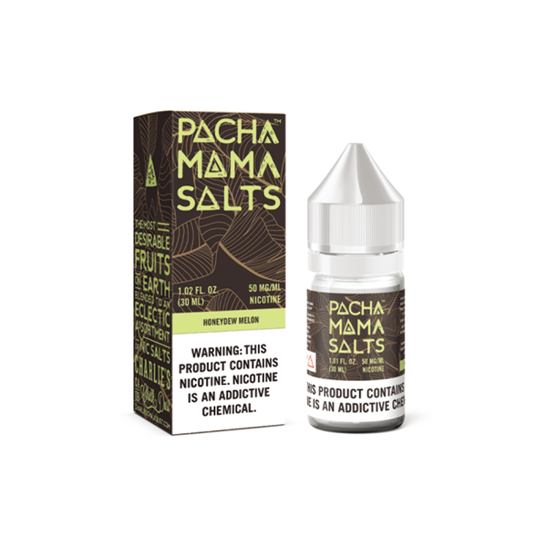 Charlie's Chalk Dust Pachamama Salt Honeydew Melon 30ml