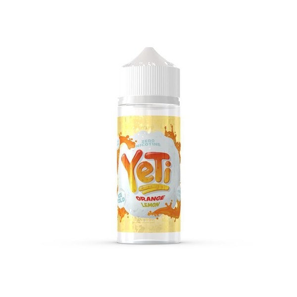 Yeti Orange Lemon 100ml - Airscream NZ | Online Vape Store NZ | Vape Pod System NZ