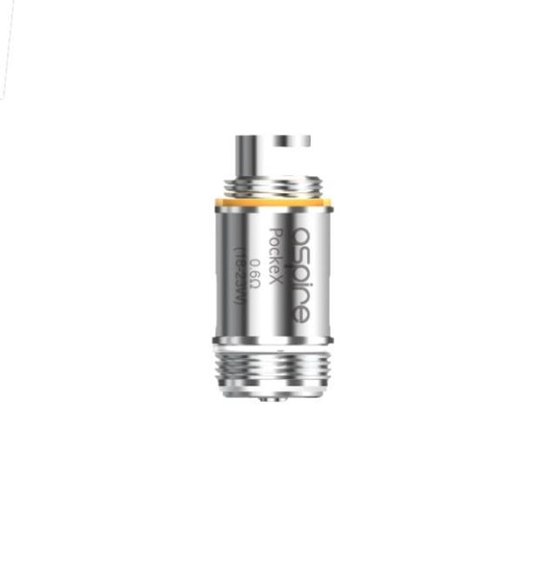 Aspire Pockex  Coil Atomizers 0.6/1.2 Ohm