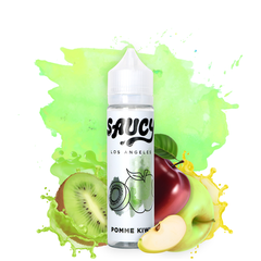 Saucy Originals Pomme Kiwi 60 ML