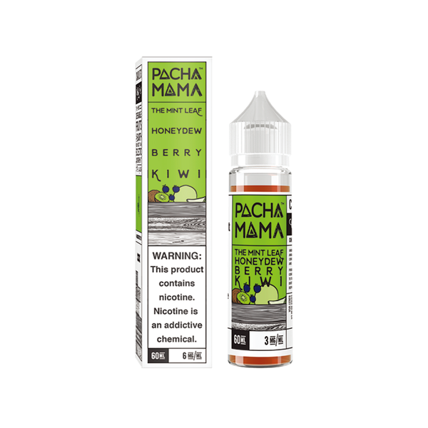 Charlie's Chalk Dust Pachamama The Mint Leaf Honeydew Berry Kiwi 60ml
